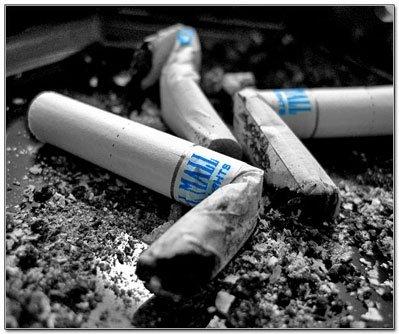 Реклама цигарок Pall Mal.