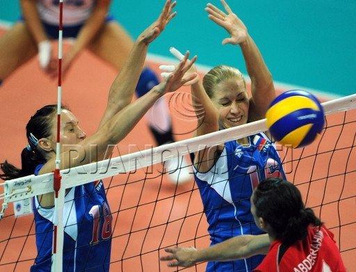 Полуфинальных групп Кубка России по женскому волейболу, победител…