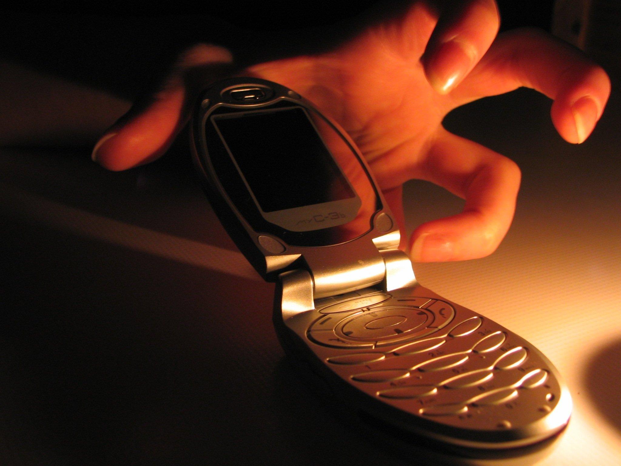 Задержали воровку телефонов
