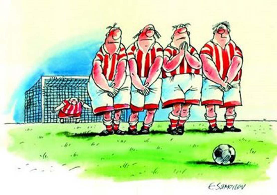 Рисунки про футбол фото - 11