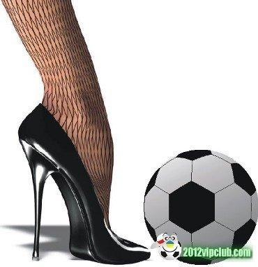 Дівчата у футболі емоції та косметика