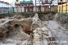 На Кафедральній у Луцьку розкопки можуть тривати 20 років. ФОТО