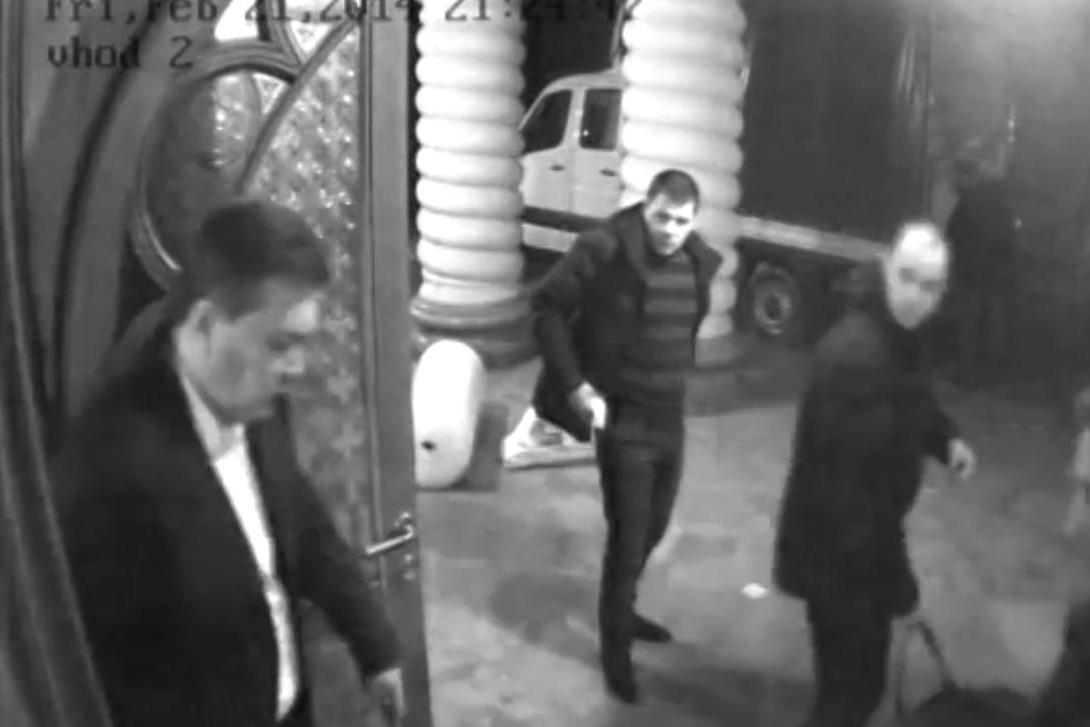 Янукович бежал в компании Полежай, Пшонки и Захарченко, - показания охраны