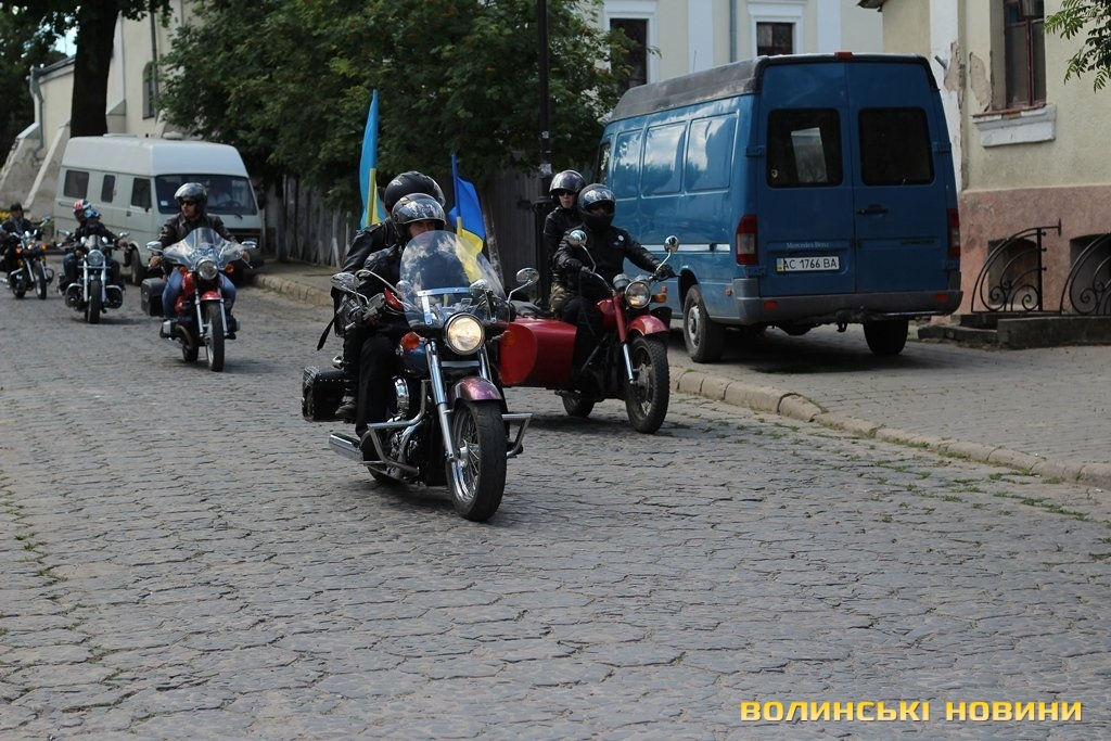 До Франківська з'їдуться учасники унікального Всеукраїнського мотопробігу