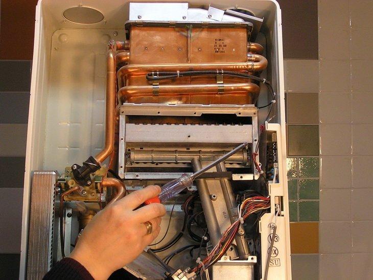 Ремонт газовых теплообменников газовых котлов своими руками