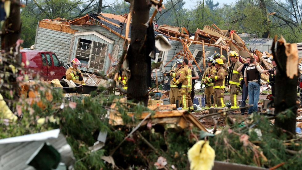 Торнадо уСША забрало життя однієї людини, щепонад 20 осіб постраждали