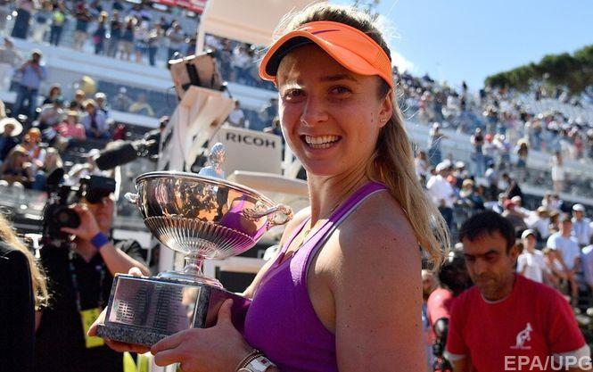 Світоліна виграла тенісний турнір уРимі
