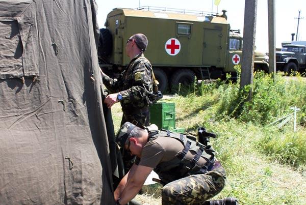 Поблизу Зайцевого терористи цілили з ПТРК та артилерії – штаб АТО