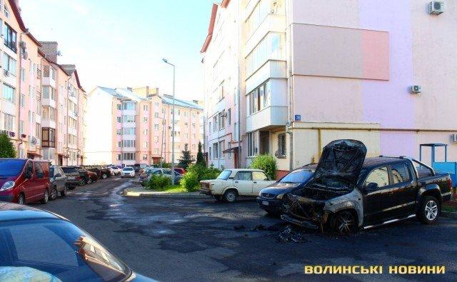 Поліція: Загоряння автомобіля Ігоря Лапіна відбулося узв'язку із замиканням