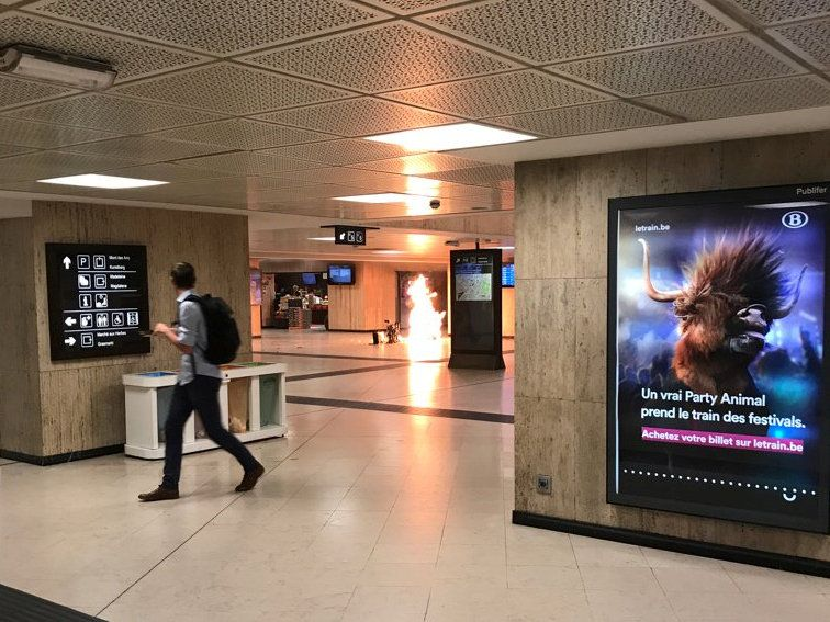Військові вбили нападника навокзалі Брюсселя, прокуратура розслідує теракт