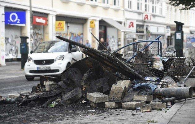 УГамбурзі поліція розігнала учасників маршу протесту Welcome toHell