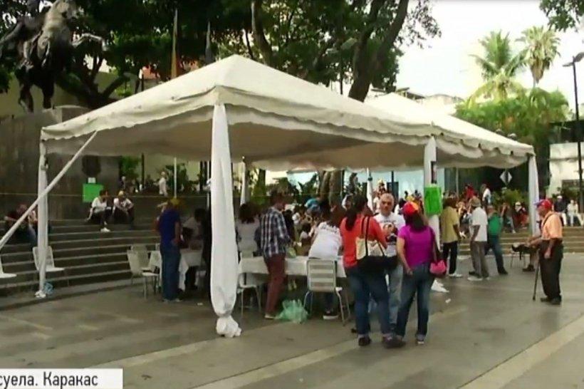 Опозиція Венесуели заявляє про загибель двох осіб під час голосування нареферендумі