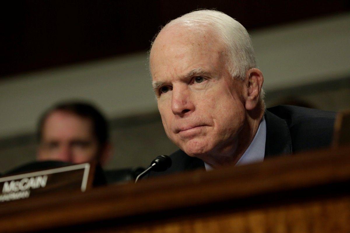 Маккейн після перенесеної операції прибуде вконгрес США для голосування щодо санкцій