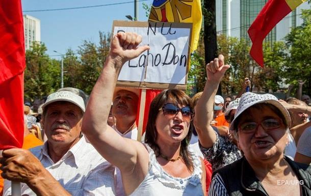 УКишиневі люди продовжують протестувати проти введення змішаної системи виборів