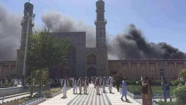 ВАфганістані стався вибух умечеті, загинуло понад 20 людей