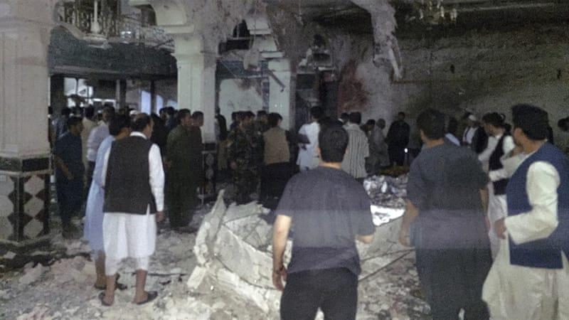 Вибух прогримів умечеті вАфганістані: є десятки жертв