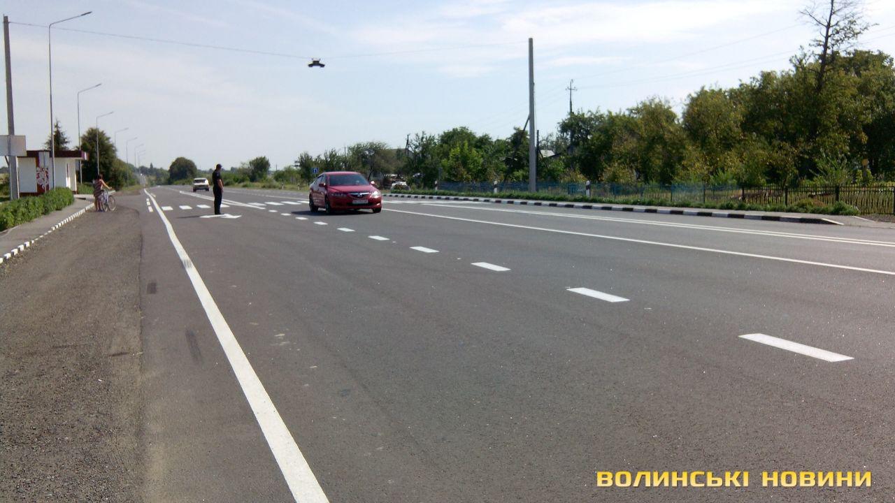 Відремонтовану дорогу Львів-Радехів-Луцьк офіційно відкрили (фото)