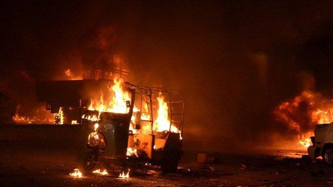 Під час вибуху вПакистані загинули 15 осіб