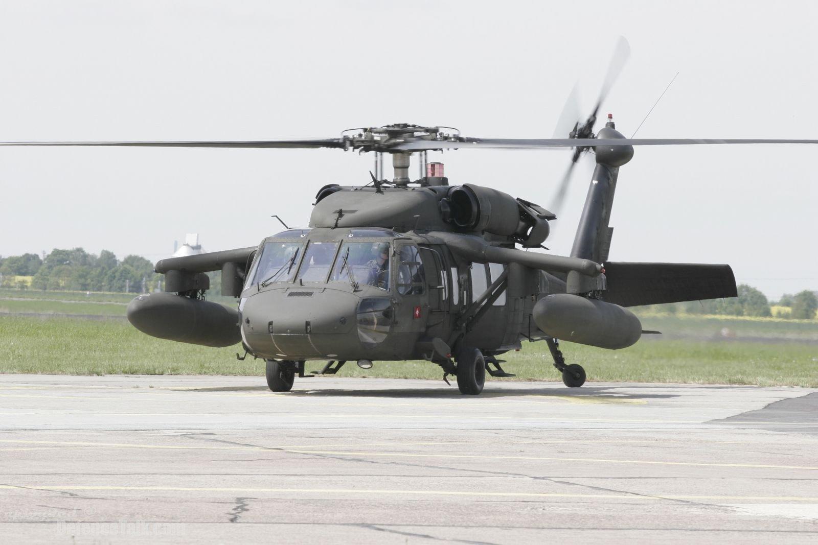 УСША впав військовий вертоліт