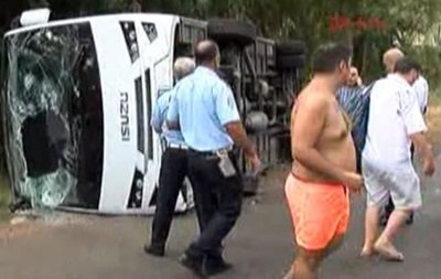 ВАнталії розбився автобус зтуристами