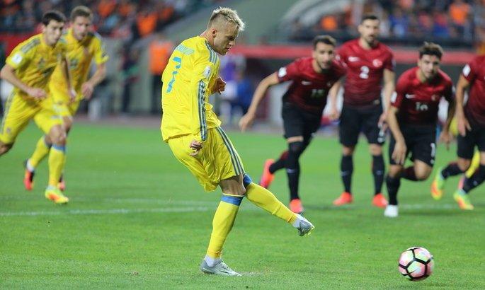 Україна обіграла Туреччину 2:0 і вийшла в лідери групи