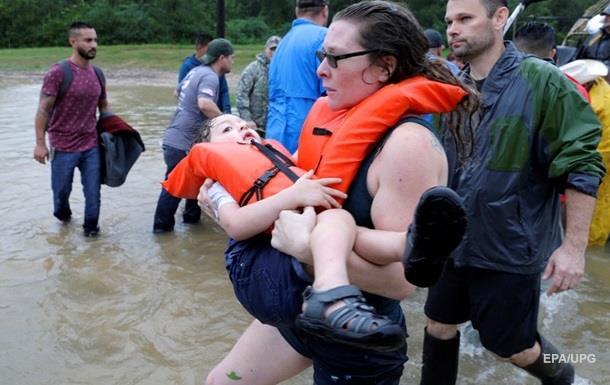 Кількість жертв від урагану «Гарві» вТехасі зросла дощонайменше 70 людей