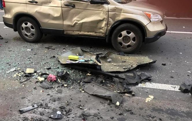 УМВС розповіли, хто загинув урезультаті вибуху вцентрі Києва
