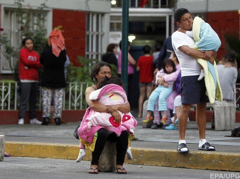 Новий землетрус зафіксували уМексиці
