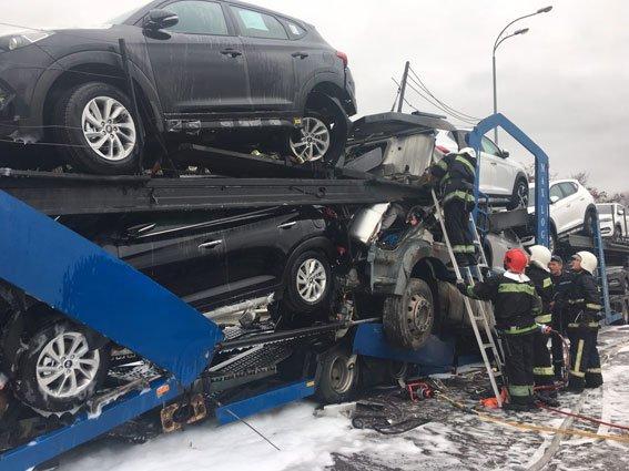 У Білій Криниці зіткнулося два автовози: загинув один із водіїв