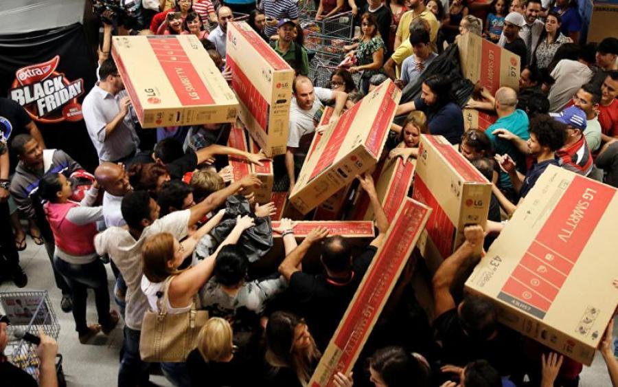 78e7fb242ae76c «Чорна п'ятниця» цього року випадає на 24 листопада. Українські магазини  обіцяють запаморочливі знижки на товари.