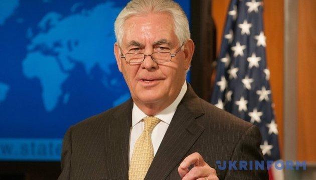 Тіллерсон розповів, скільки діятимуть санкції протиРФ