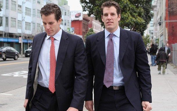 Першими усвіті біткоїновими мільярдерами стали брати-близнюки зі США