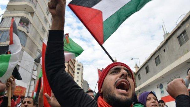 УХаркові палестинці влаштували акцію протесту проти рішення Трампа щодо Єрусалиму