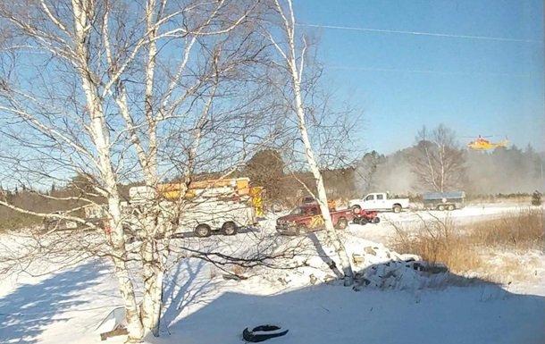 Унаслідок падіння вертольота вКанаді загинуло четверо людей