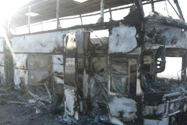 УКазахстані понад 50 людей заживо згоріли вавтобусі