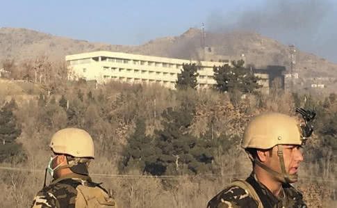 Унаслідок нападу наготель уКабулі загинули 43 людини,— джерело