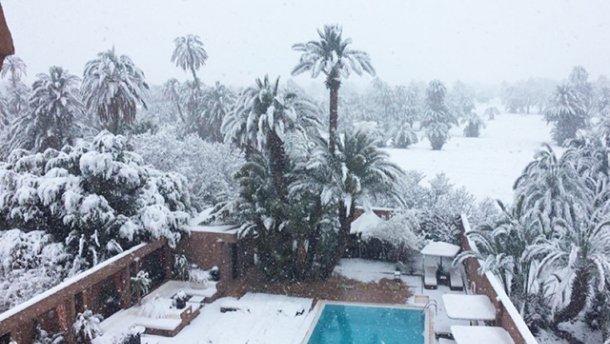 Сніг засипав Марокко вперше за50 років