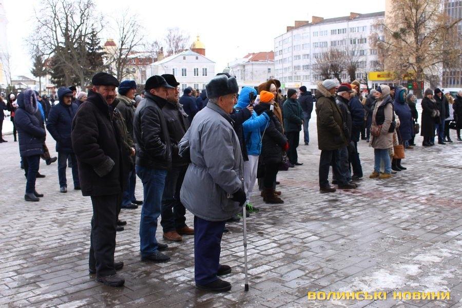 НаМайдані зібралися учасники акції РНС «за відставку Порошенка»