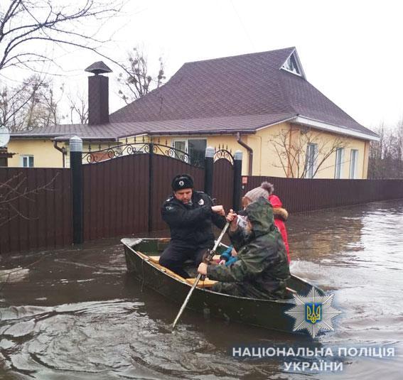 Сумська область: триває ліквідація наслідків підтоплення— 43 людини евакуйовано