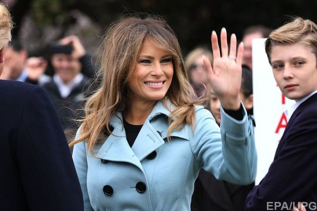 Дружина президента США Меланія Трамп перенесла операцію нанирці