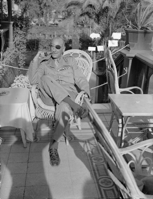 Генерал де Віарт, Каїр, 1943 р.