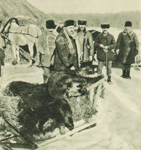 Полювання на Поліссі, 1920-ті