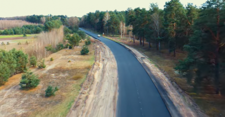 До Шацьких озер відремонтували дорогу. Відео
