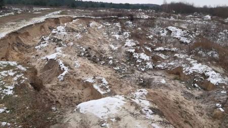 На Волині незаконно видобували пісок: нарахували майже 51 мільйон збитків