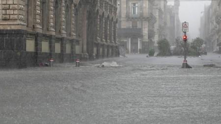 В Італії шторм призвів до сильної повені