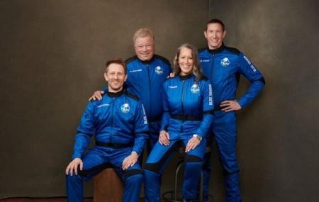 90-річна зірка «Зоряного шляху» вирушив у космос на кораблі New Shepard - volynfeed.com