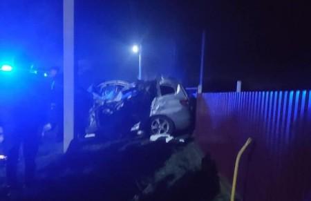 Влетів в трактор: у ДТП на Волині загинув водій і тяжко травмувалась дитина. Фото