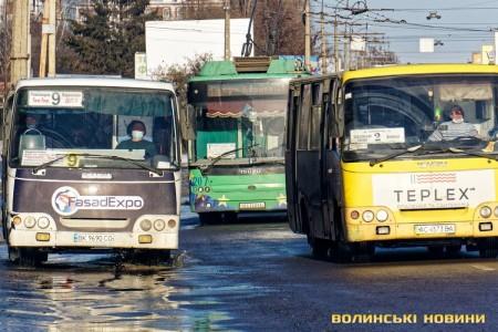Приміські маршрутки потрібно вивести з центральних вулиць міста, – мер Луцька