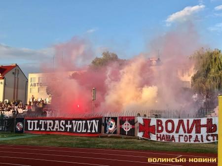 «Волинь» перемогла «Поділля» у першому домашньому матчі сезону