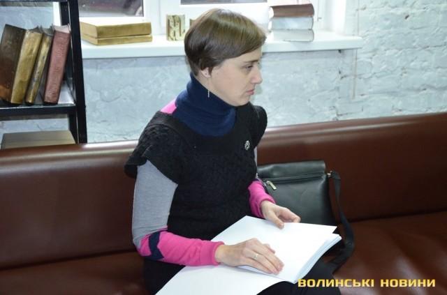 «Луцьк у долонях»: презентували туристичний путівник шрифтом Брайля